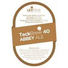 FERMENTO LIQUIDO LEVTECK - TECKBREW 40 ABBEY ALE - SACHE - VALBIER