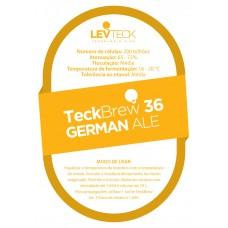 FERMENTO LIQUIDO LEVTECK - TECKBREW 36 GERMAN ALE - SACHE - VALBIER