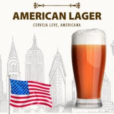 Kit para 10 Litros de Cerveja American Lager