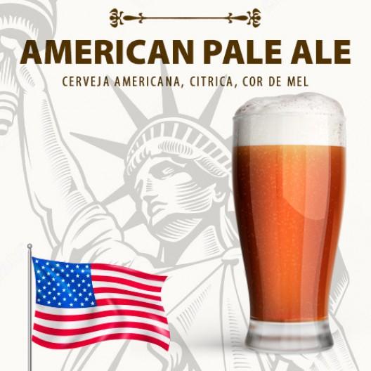 Kit para 30 Litros de Cerveja American Pale Ale