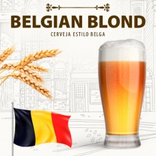 Kit para 10 Litros de Cerveja Belgian Blond