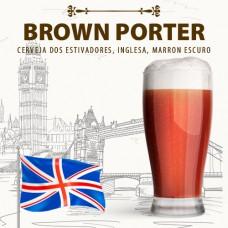 Kit para 10 Litros de Cerveja Brown Porter