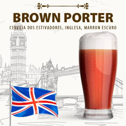 Kit para 20 Litros de Cerveja Brown Porter