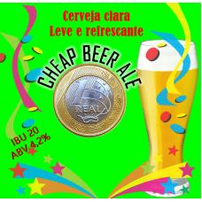 KIT PARA 10 LITROS DE CERVEJA CHEAP BEER ALE