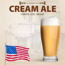 Kit para 10 Litros de Cerveja Cream Ale