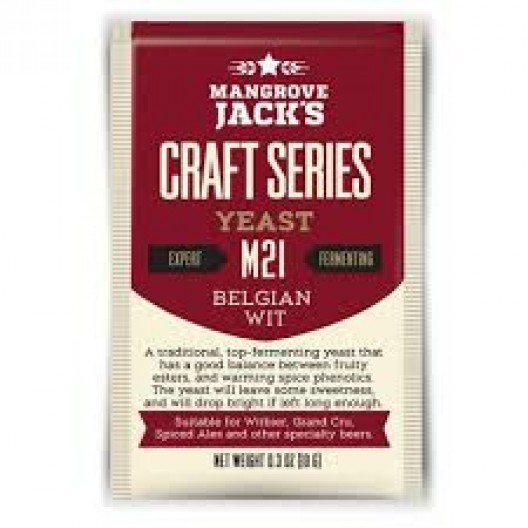 Fermento Mangrove Jack's Belgian Wit M21 - 10gr - VALBIER