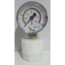 Manômetro Para Controle de Pressão na Refermentação Conjunto