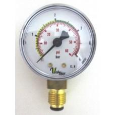 Manômetro Controlador de Pressão 0-4 Bar