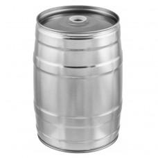 Mini keg 5 litros sem Torneira - Prata