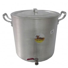 """Panela para Brassagem e Fervura  45 litros com Válvula Extratora 3/4"""""""
