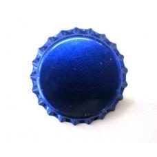 Tampinha Metalica Pry Off Cor Azul Metálico 26mm - VALBIER