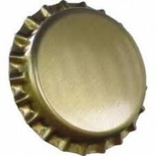 Tampinha Metalica Pry Off Cor Dourada
