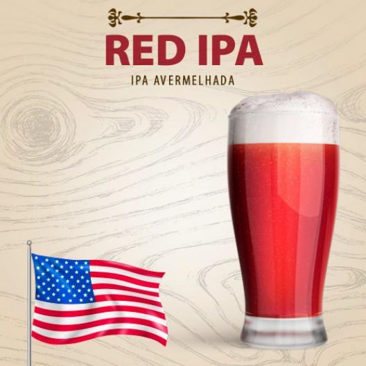 Kit para 20 Litros de Cerveja RED IPA