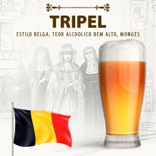 Kit para 10 Litros de Cerveja Tripel (Karmeliet)